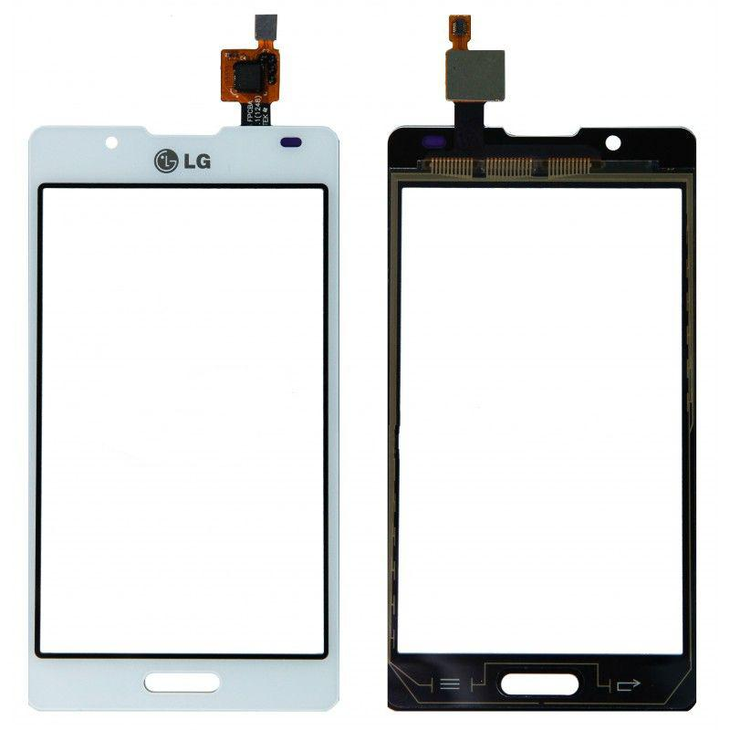 Тачскрин для LG P710 Optimus L7 II/P713/P714, белый Оригинал