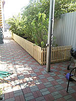 Деревянный декоративный заборчик h-0.5м