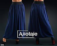 Женская длинная летняя юбка в пол больших размеров, 46 - 60