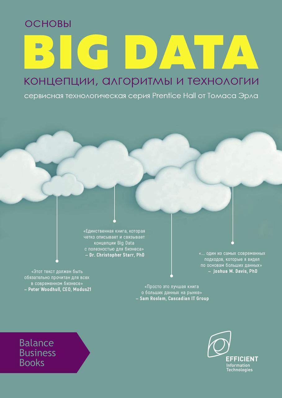 Книга Основы Big Data. Концепции, алгоритмы и технологии Томас Ерл