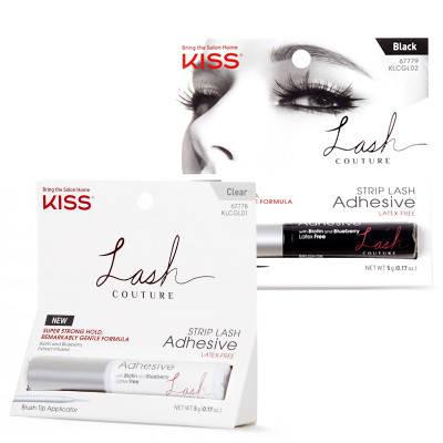 Сильный клей для накладных ресниц с экстрактом черники Kiss Lash Couture Strip Lash Sdhesive, фото 2