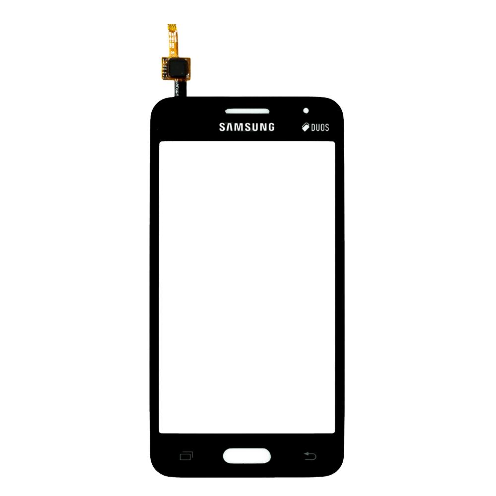 Тачскрин для Samsung G355H Galaxy Core 2 Duos, черный Оригинал (тестирован)