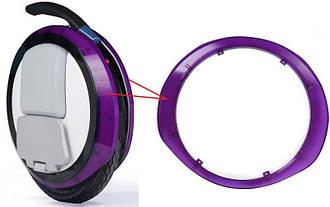 Segway Декоративная прозрачная накладка для моноколес Ninebot by Segway ONE E+ Purple (2шт.)