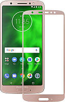 Защитное стекло Mocolo 3D Full Cover Tempered Glass Moto G6 Plus Gold