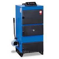 Стальной жаротрубный твердотопливный котел UNMAK UKY/3K 25- (29 кВт)