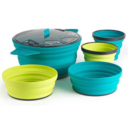 Набор посуды SeaToSummit XSet 31 (XPot2.8L+2 X-Bowl+2 X-Mug)
