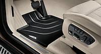 Комплект оригинальных ковриков салона для BMW X5 (F15) черные (51472458439 / 51472458440)