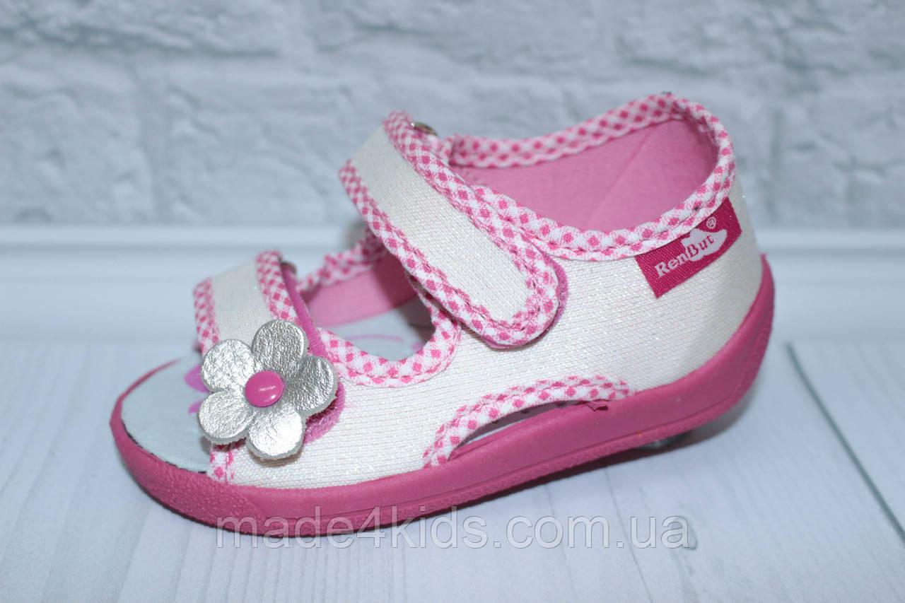 d5af3428a Польские текстильные босоножки на девочку тм Renbut - Интернет-магазин  детских товаров и обуви