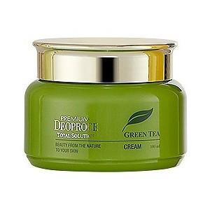 Крем с экстрактом зеленого чая Premium Deoproce Green Tea Total Solution cream