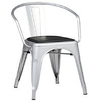 Кресло «Барселона» серебро
