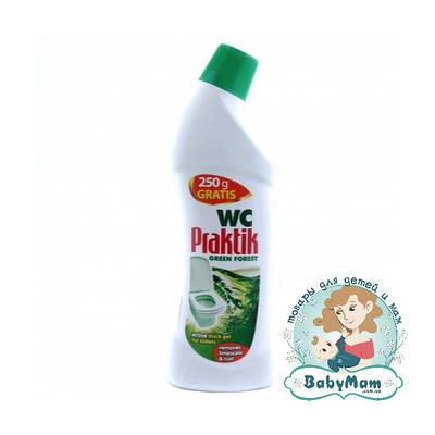 Средство для мытья унитазов dr.Prakti Green Forest, 750мл