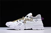 Кроссовки Gucci SEGA Crystal Sneaker мужские женские реплика