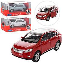 Машинка LEXUS RX 450H 43641CW металева, інерційна, 1:34-39, резинові колеса