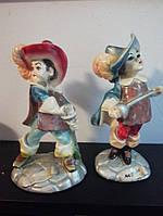 Керамические статуэтки Мушкетеры