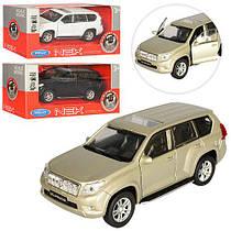 Машинка Toyota Land Cruiser Welly 43630L-CW металева, інерційна, 1:34-39, резинові колеса