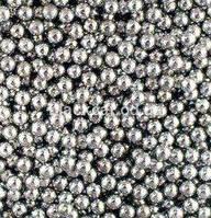 Бульонки металлические серебро Global Fashion
