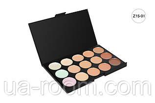 Профессиональная палитра кремовых корректоров MAC (15 цветов) P1501/1502