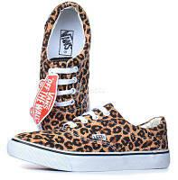 """Кеды текстильные женские Vans Era 59 Leopard """"Леопардовые"""" 8 р (25,8 см), фото 1"""