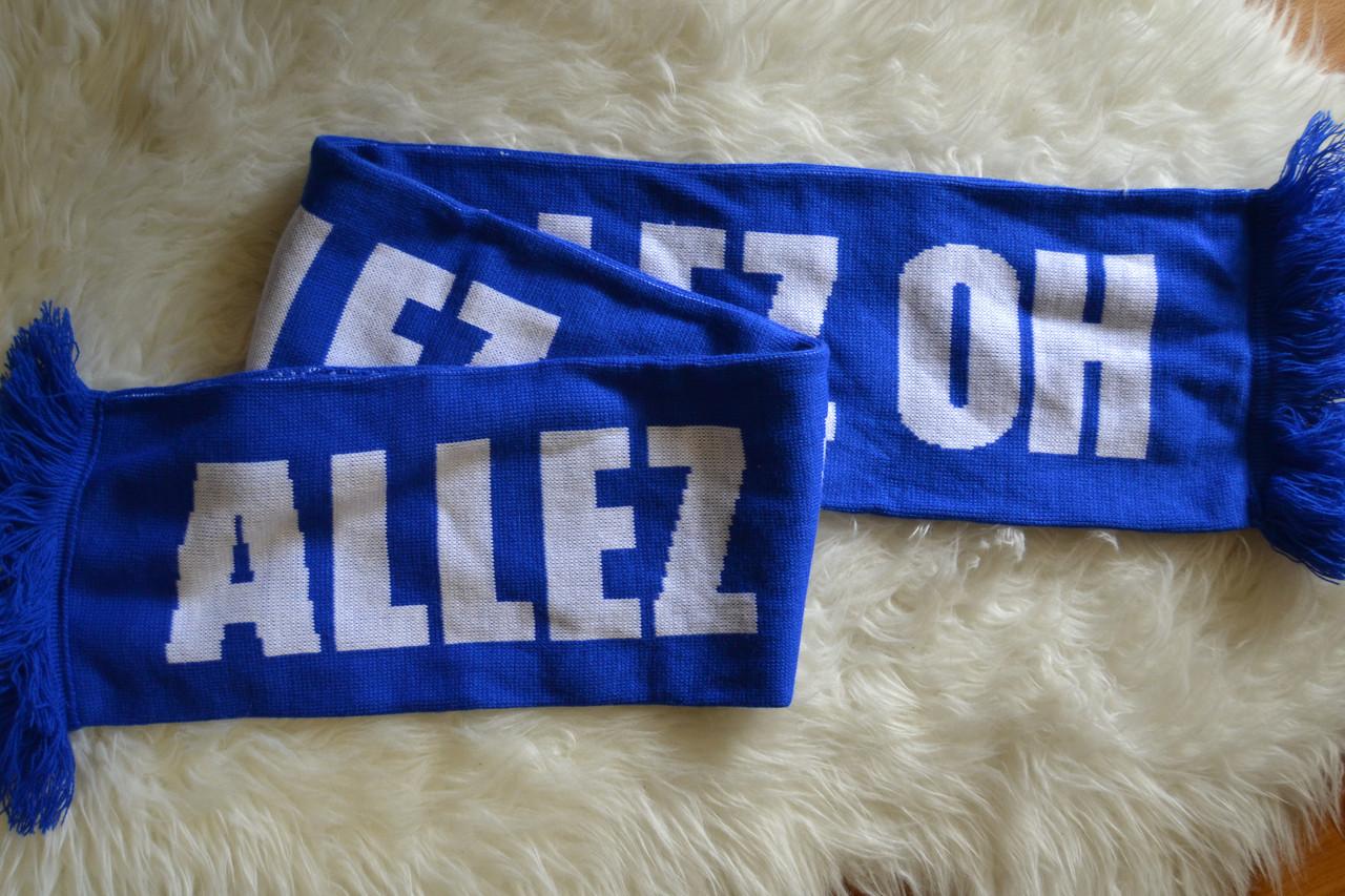 Футбольный шарф эвертона