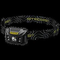 Фонарь налобный Nitecore NU30 (Сree XP-G2 S3, 400 люмен, 6 режимов, USB), черный, фото 1