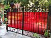 Кованые ворота арт кв 26