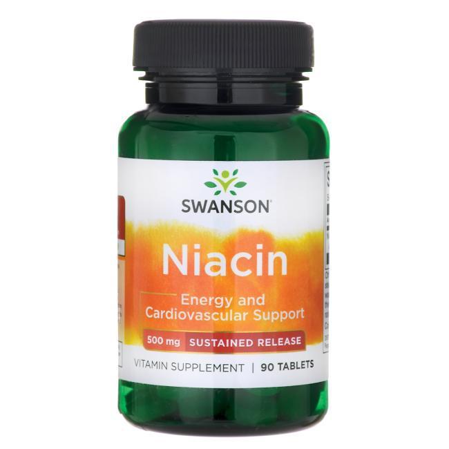 Ниацин В3, 500 мг. 90 таблеток
