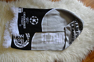 Футбольный шарф Зенит (Санкт-Петербург) made in UK, фото 2