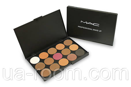 Набор теней Mac Professional Make Up 15 цветов E1501/02/04/05, фото 2
