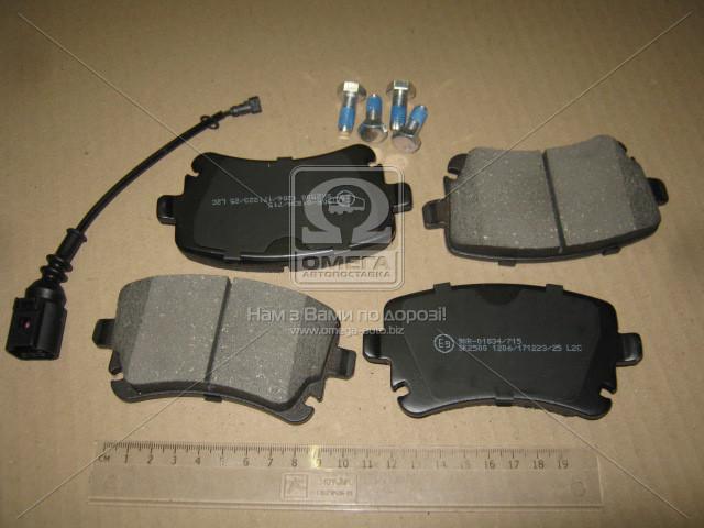 Колодка торм. VW T5 (7HM), T5 (7HB, 7HJ) задн. (пр-во LPR)05P1206