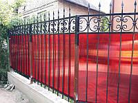 Забор кованый арт зк 36