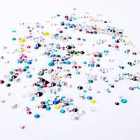"""Камни """"микс""""  разноцветные размер от 3 до 5 Global Fashion"""