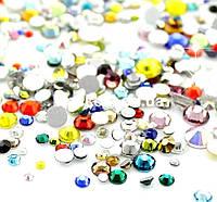 """Камни """"микс""""  разноцветные размер от 2 до 10 Global Fashion, фото 1"""