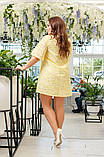 Сукня батальне льон, фото 2