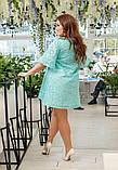 Сукня батальне льон, фото 5