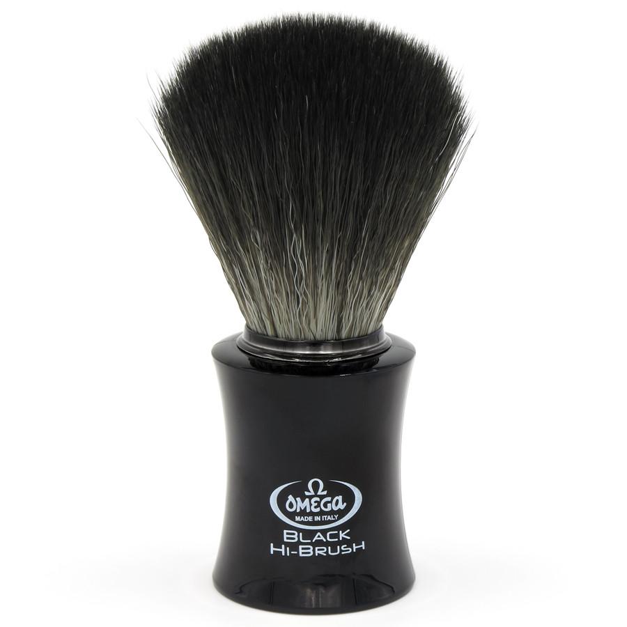 Помазок Omega 0196818 Black Hi-Brush из синтетической фибры