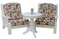 Распродажа: комплект кресел и кофейного столика с экспозиции!