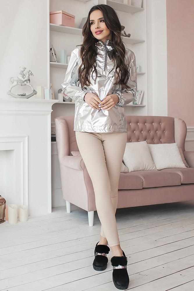 (M / 44-46) Жіночі бежеві стрейчеві джинси Onil