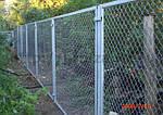 Как построить забор из сетки рабицы (интересные статьи)