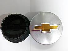 Комплект колпачков в колесные диски CHEVROLET 59 мм / 47 мм