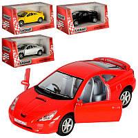 Машинка металева KINSMART KT 5038 W Toyota Celica, в коробці