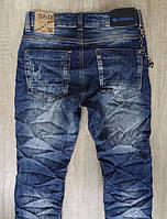 Джинсовые брюки для мальчиков  оптом,S&D ,8-16 лет., арт. DT-1001, фото 7