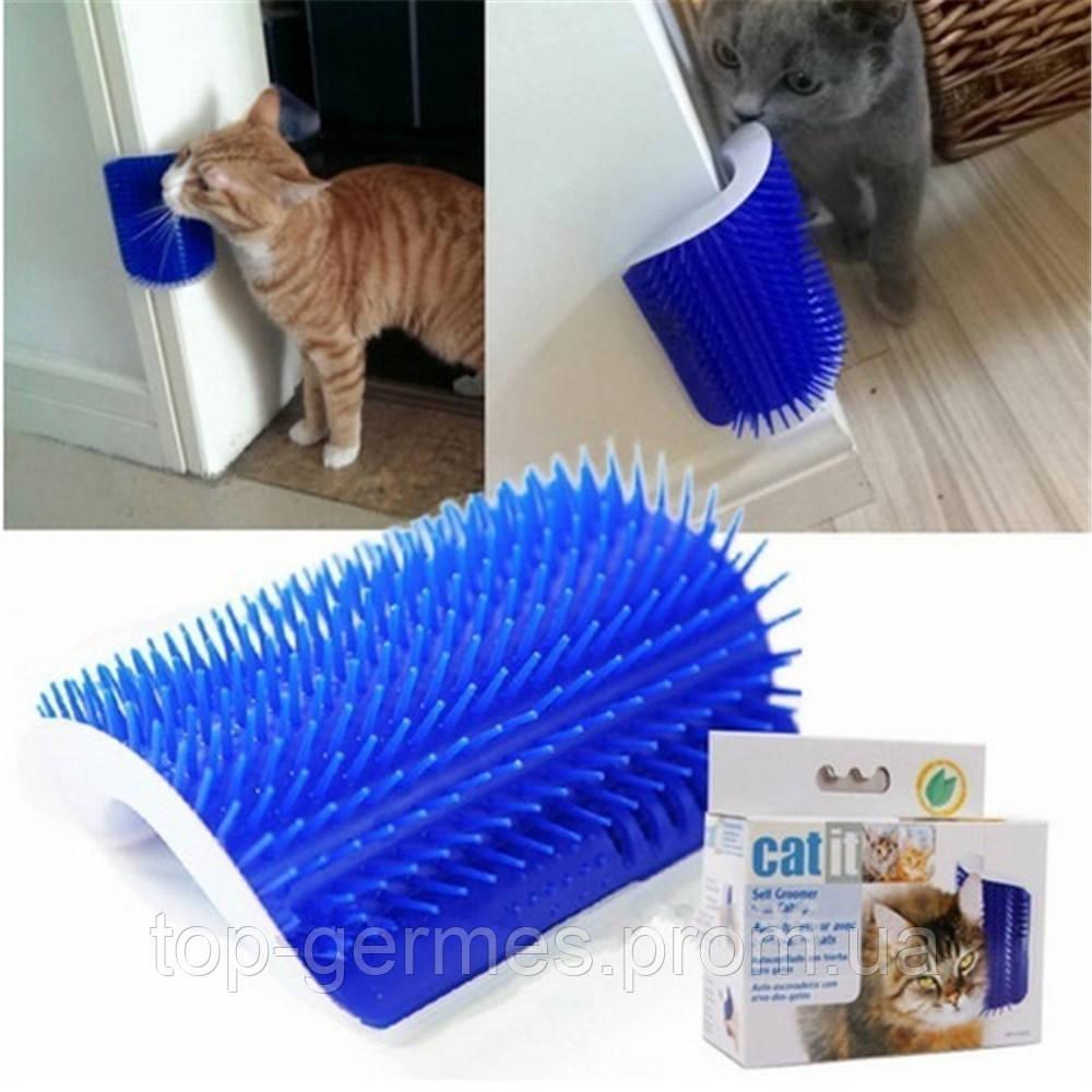 Щетка для самогрубинга кошек