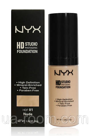 Тональная основа NYX HD Studio Photogenic Foundation FA 82, фото 2