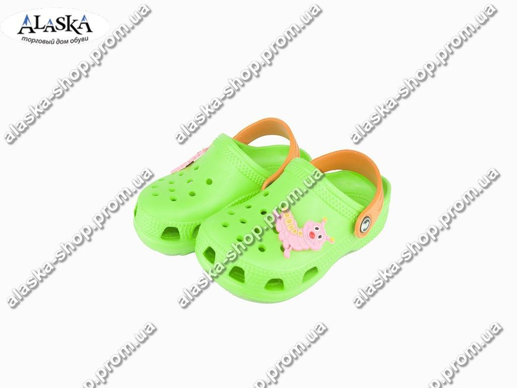 Детские кроксы ( Код: 116132 JA салат )