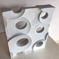 """Комплект форм """"КОЛЬЦА"""" для 3D перегородок из гипса"""