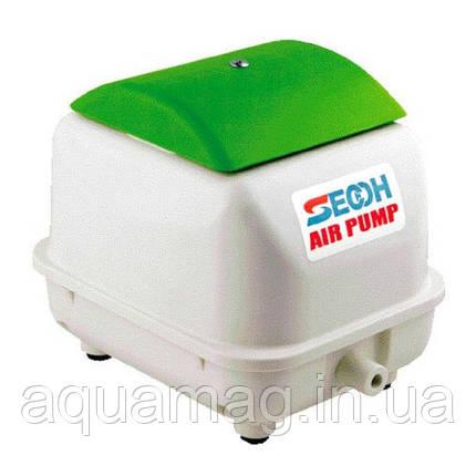Мембранный компрессор Secoh JDK-50 для пруда, септика, водоема, озера, узв, фото 2