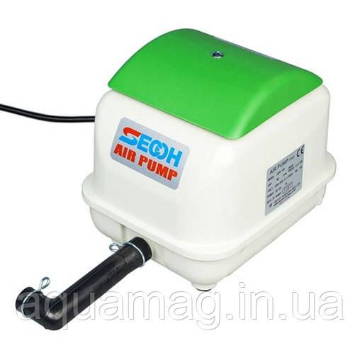 Мембранный компрессор Secoh JDK-50 для пруда, септика, водоема, озера, узв