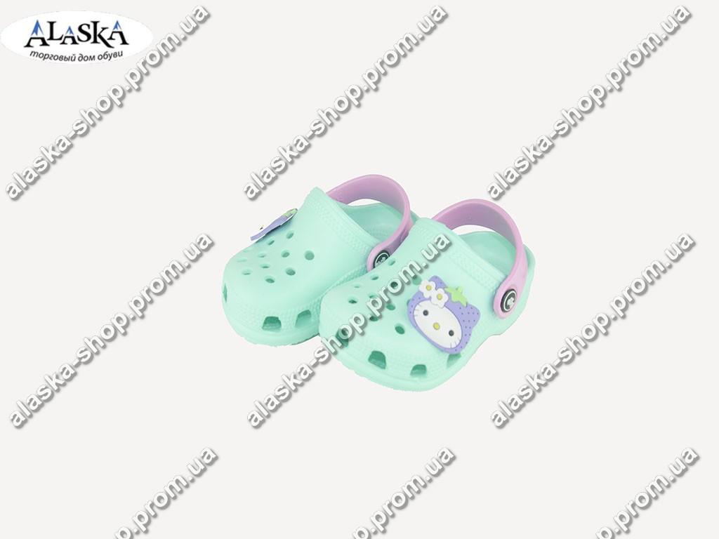 Детские кроксы ( Код: 116138 JA бирюза )