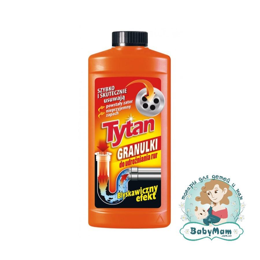 Гранулированное средство Tytan для чистки канализационных труб, 250г