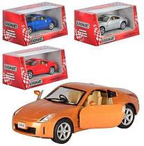 Машинка металева KINSMART KT 5061 W Nissan Fairlady 350Z, в коробці